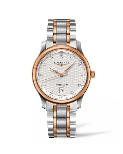 Longines L2.628.5.97.7 : Master Collection Date 38.5 Two Tone Rose / Diamond