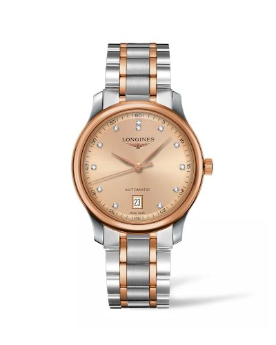 Longines L2.628.5.99.7 : Master Collection Date 38.5 Two Tone Rose / Bronze