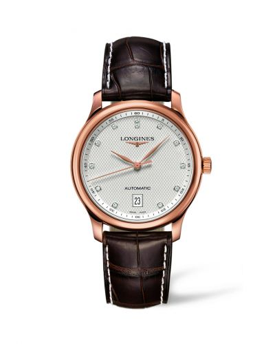 Longines L2.628.8.77.3 : Master Collection Date 38.5 Pink Gold