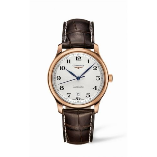 Longines L2.628.8.78.3 : Master Collection Date 38.5 Pink Gold