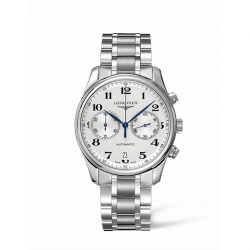 Longines L2.629.4.78.6 : Master Collection Chronograph 40 Stainless Steel / Silver / Bracelet