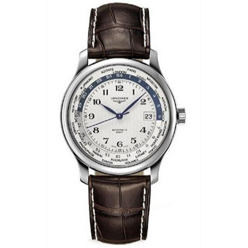 Longines L2.631.4.70.3 : Master Collection Worldtime Silver