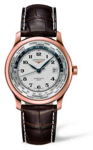 Longines L2.631.8.70.3 : Master Collection Worldtime Pink Gold