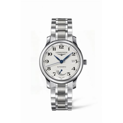 Longines L2.708.4.78.6 : Master Collection 38.5mm Power Reserve Stainless Steel / Silver-Arabic / Bracelet