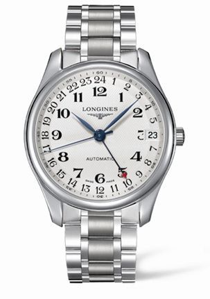 Longines L2.718.4.78.6 : Master Collection 42 24h Stainless Steel / Silver-Arabic / Bracelet