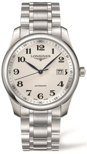 Longines L2.793.4.78.6 : Master Collection 40 Date Stainless Steel / Silver-Arabic / Bracelet