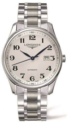 Longines L2.893.4.78.6 : Master Collection 42 Date Stainless Steel / Silver-Arabic / Bracelet