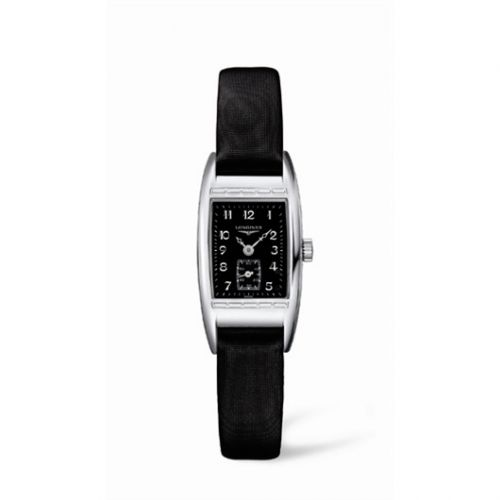 L2.194.4.53.3 : Longines BelleArti 19 Quartz Stainless Steel Black