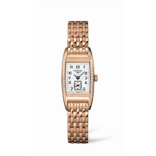 L2.194.9.83.6 : Longines BelleArti 19 Quartz Pink Gold Diamond