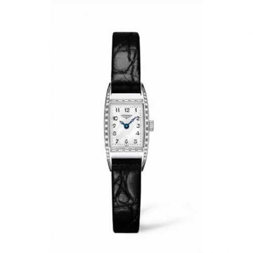 L2.195.0.83.4 : Longines BelleArti 16 Stainless Steel Diamond MOP