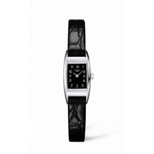 L2.195.4.53.4 : Longines BelleArti 16 Stainless Steel Black
