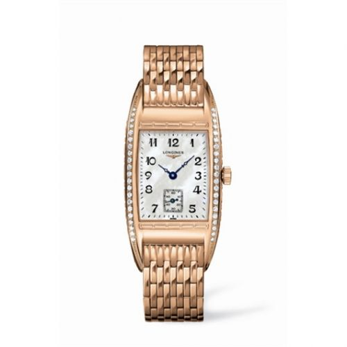 L2.501.9.83.6 : Longines BelleArti 24.6 Pink Gold Diamond