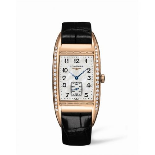 L2.694.9.83.4 : Longines BelleArti 27.3 Pink Gold Diamond