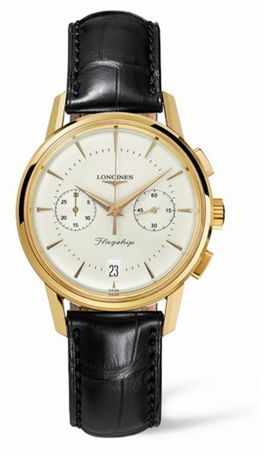 L4.756.6.72.0 : Longines Flagship Heritage Yellow Gold