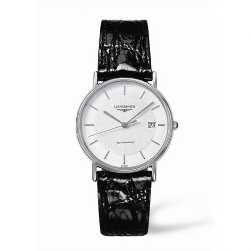 Longines L4.721.4.18.2 : Presence 34.5 Automatic Stainless Steel Stick