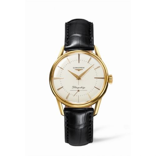 L4.746.6.72.0 : Longines Flagship Heritage Yellow Gold