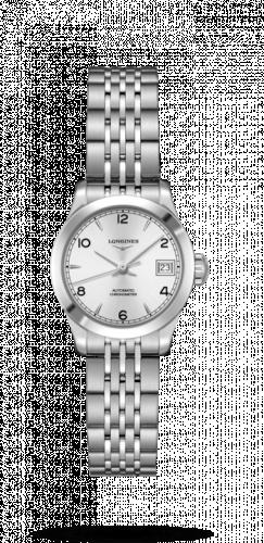 Longines L2.320.4.76.6 : Record 26mm Stainless Steel / Silver-Arabic / Bracelet