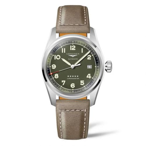 Longines L3.810.4.03.2 : Spirit Automatic 40 Green / Strap