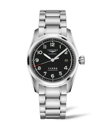 Longines L3.810.4.53.6 : Spirit Automatic 40 Black / Bracelet