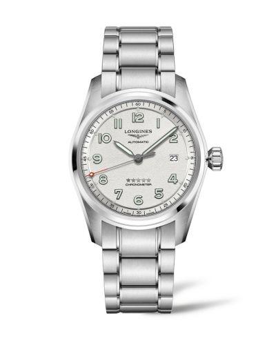 Longines L3.810.4.73.6 : Spirit Automatic 40 Silver / Bracelet