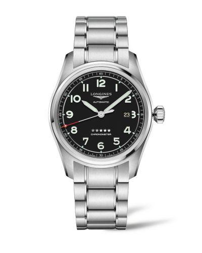 Longines L3.811.4.53.6 : Spirit Automatic 42 Black / Bracelet