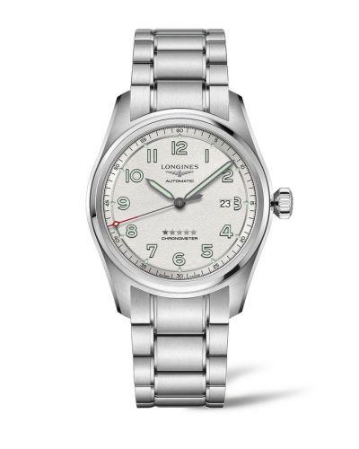 Longines L3.811.4.73.6 : Spirit Automatic 42 Silver / Bracelet