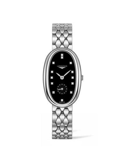 L2.307.4.57.6 : Longines Symphonette XL Black / Bracelet
