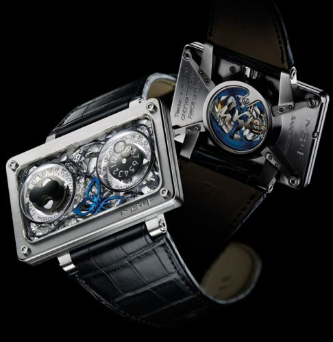 20.DWWTL.OW : MB&F Horological Machine N°2 HM2 Only Watch 2009