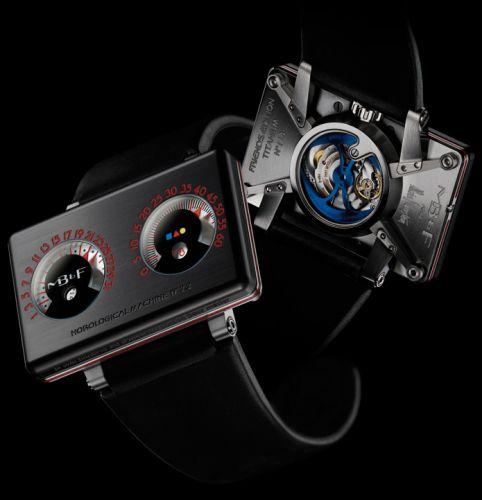 MB&F 22.BB : Horological Machine N°2.2 HM2.2 Black Box
