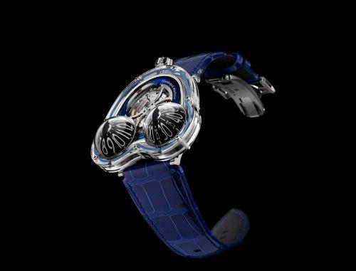 36.SVL.BU : MB&F Horological Machine N°3 HM3 Frog X Blue