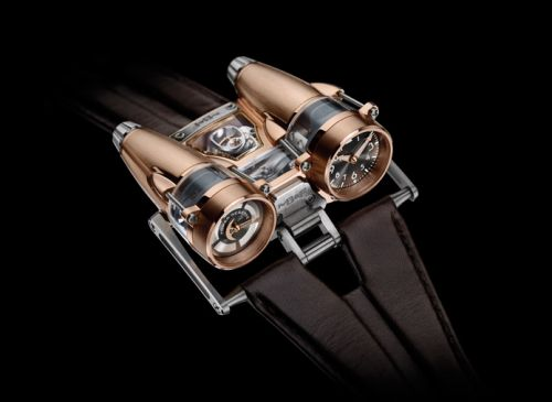40.RSL.R : MB&F Horological Machine N°4 HM4 Thunderbolt Red Gold
