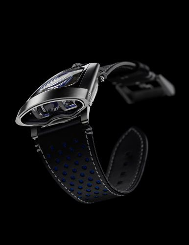 56.STBL.B : MB&F Horological Machine 10th Anniversary HMX Blue