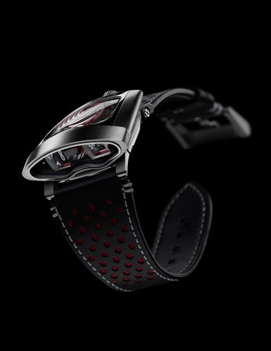 56.STRL.B : MB&F Horological Machine 10th Anniversary HMX Red