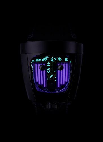 57.STPL.B : MB&F Horological Machine  HMX Black Badger Purple