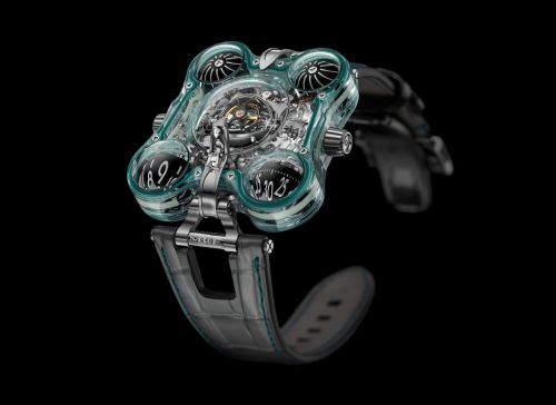60.STGL.B : MB&F Horological Machine N°6 Alien Nation HM6 Green