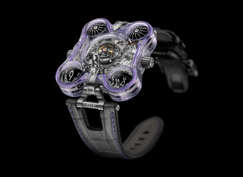 60.STPL.B : MB&F Horological Machine N°6 Alien Nation HM6 Purple