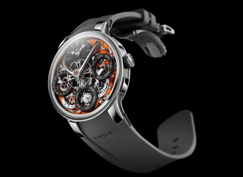 MB&F 07.ZR.OR : Legacy Machine Perpetual Evo Orange