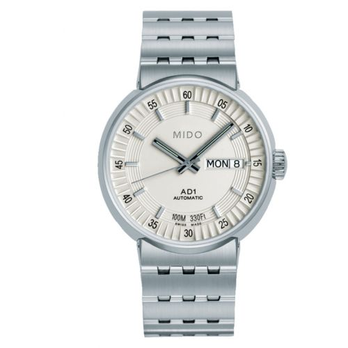 Mido M8330.4.11.13 : All Dial Stainless Steel / Silver