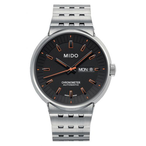 Mido M8340.4.18.19 : All Dial Chronometer Stainless Steel / Black