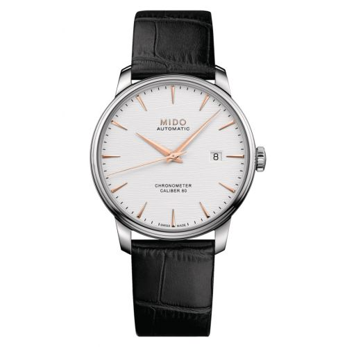 Mido M027.408.16.031.00 : Baroncelli Chronometer Stainless Steel / Silver