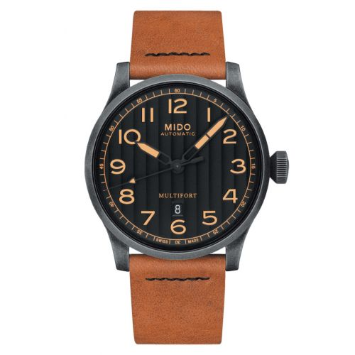 Mido M032.607.36.050.99 : Multifort Gent Escape Horween Special Edition