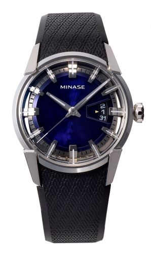Minase VM04-R01SD : Divido Stainless Steel / Blue / Rubber