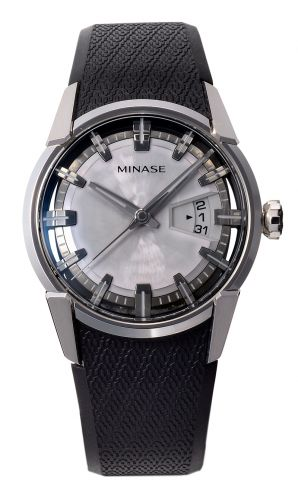 Minase VM04-R02SD : Divido Stainless Steel / Silver / Rubber