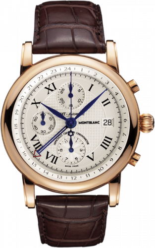 Montblanc 101638 : Star Traditional Chronograph GMT Automatic Red Gold