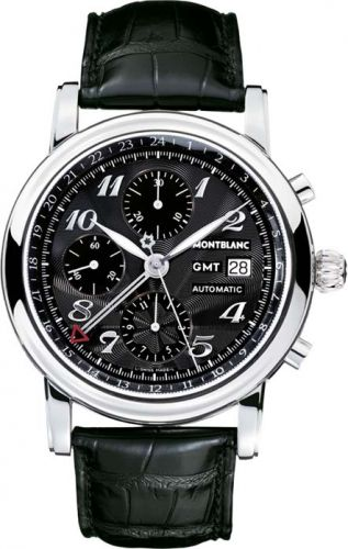 Montblanc 102135 : Star Traditional Chronograph GMT Automatic Black
