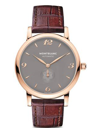 Montblanc 107075 : Star Classique Automatic Red Gold / Grey