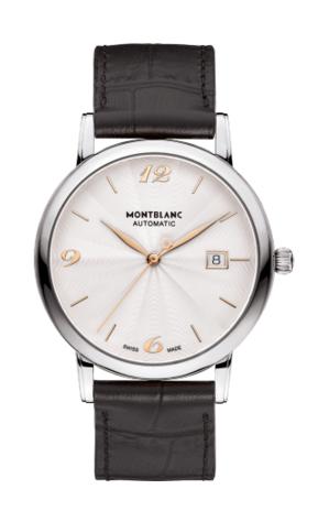 Montblanc 113823 : Classique Date Automatic 39mm Guilloche