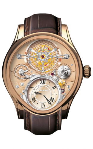 106495 : Montblanc Tourbillon Bi-Cylindrique Red Gold