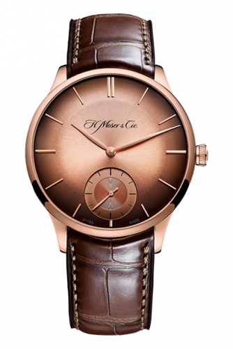H. Moser & Cie 2327-0401 : Venturer Small Seconds, Red Gold, Red Gold Fumé Dial