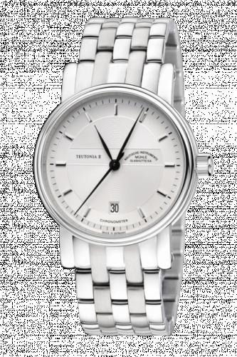 Mühle Glashütte M1-30-45-MB : Teutonia II Chronometer Silver / Bracelet